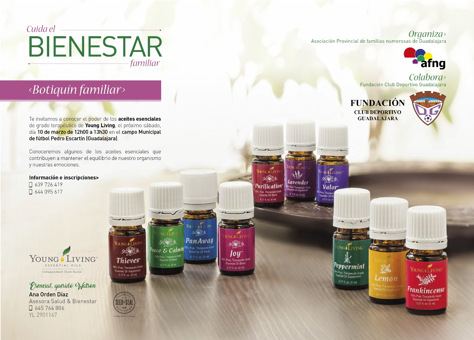 Cuida el Bienestar familiar con Young Living