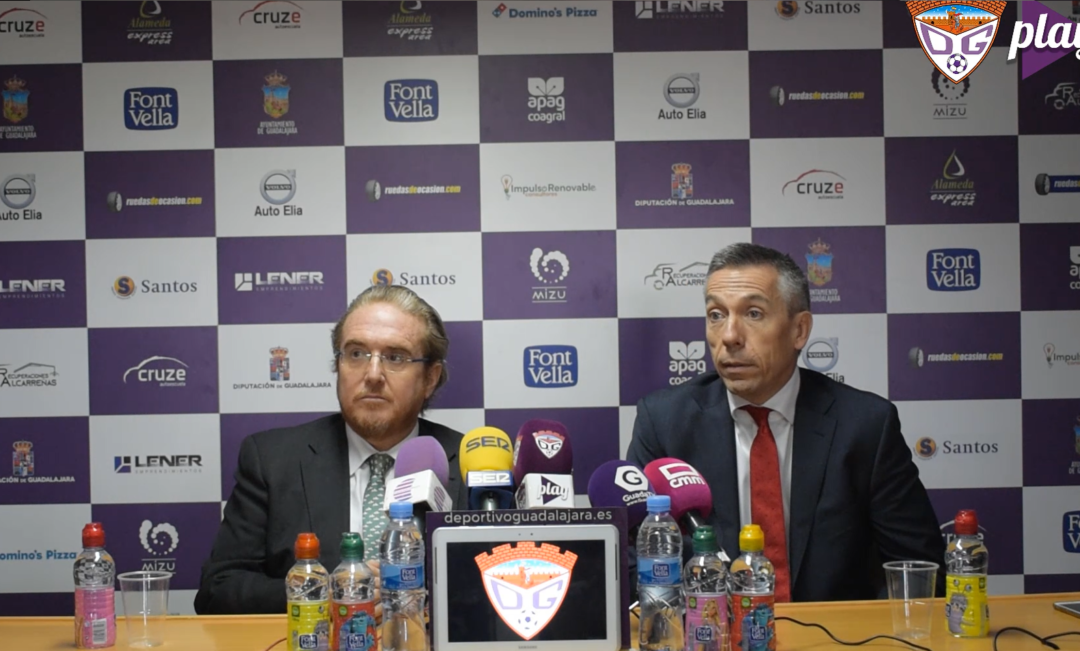 Rueda de prensa íntegra de la Administración Concursal en la sala de prensa del 'Pedro Escartín'