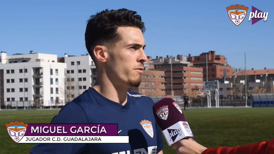 Miguel García: »Relajación 0 porque todos nos jugamos algo»