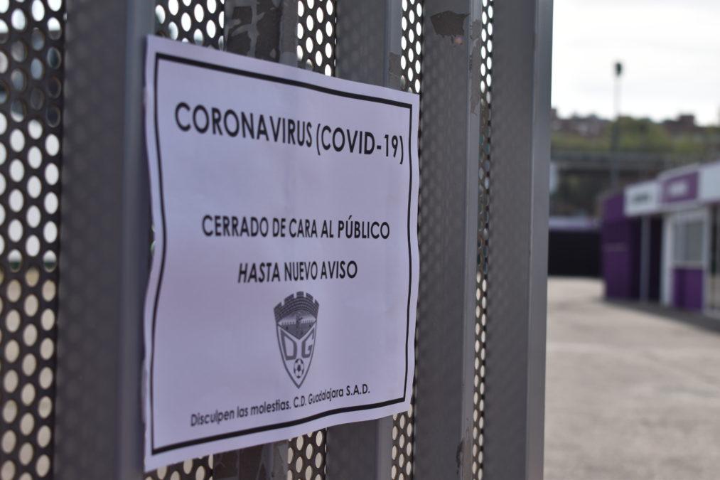 Cese de la actividad en el C.D. Guadalajara