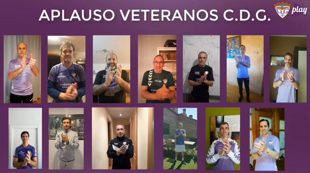 Los veteranos del C.D. Guadalajara también se unen al #AplausoSanitario
