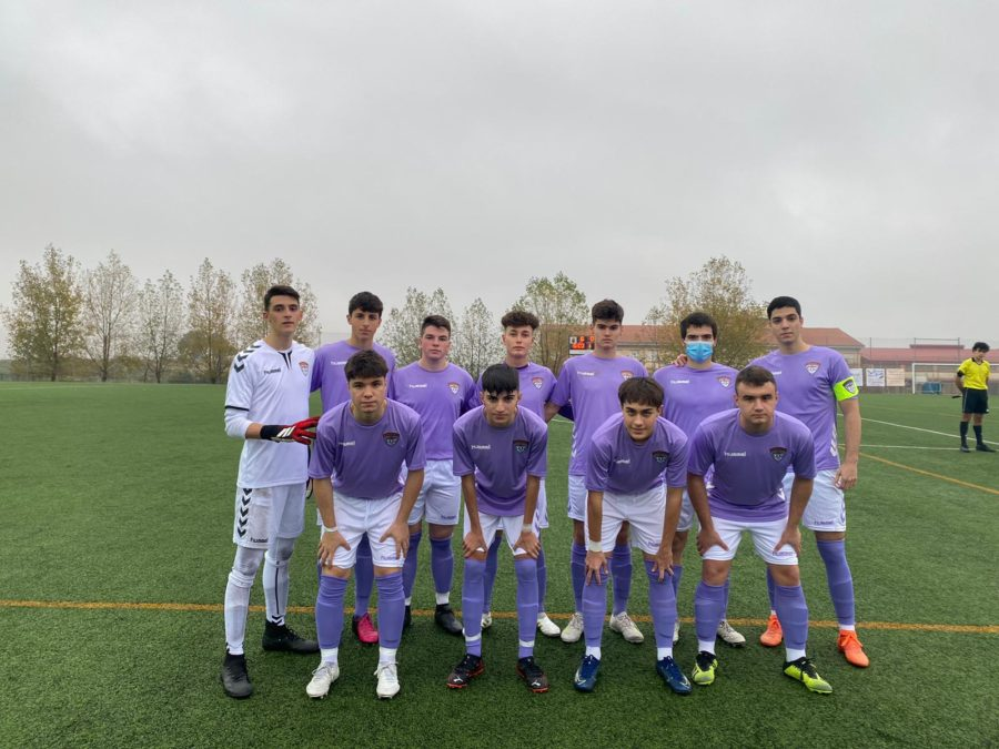 El C.D. Guadalajara Juvenil golea a domicilio al C.D. Valmojado