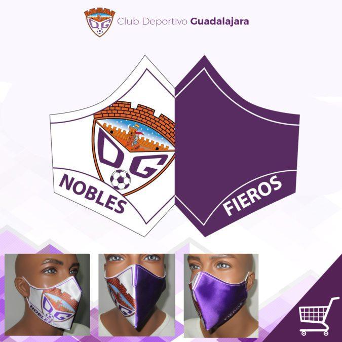 Ya disponible las mascarillas oficiales del C.D. Guadalajara