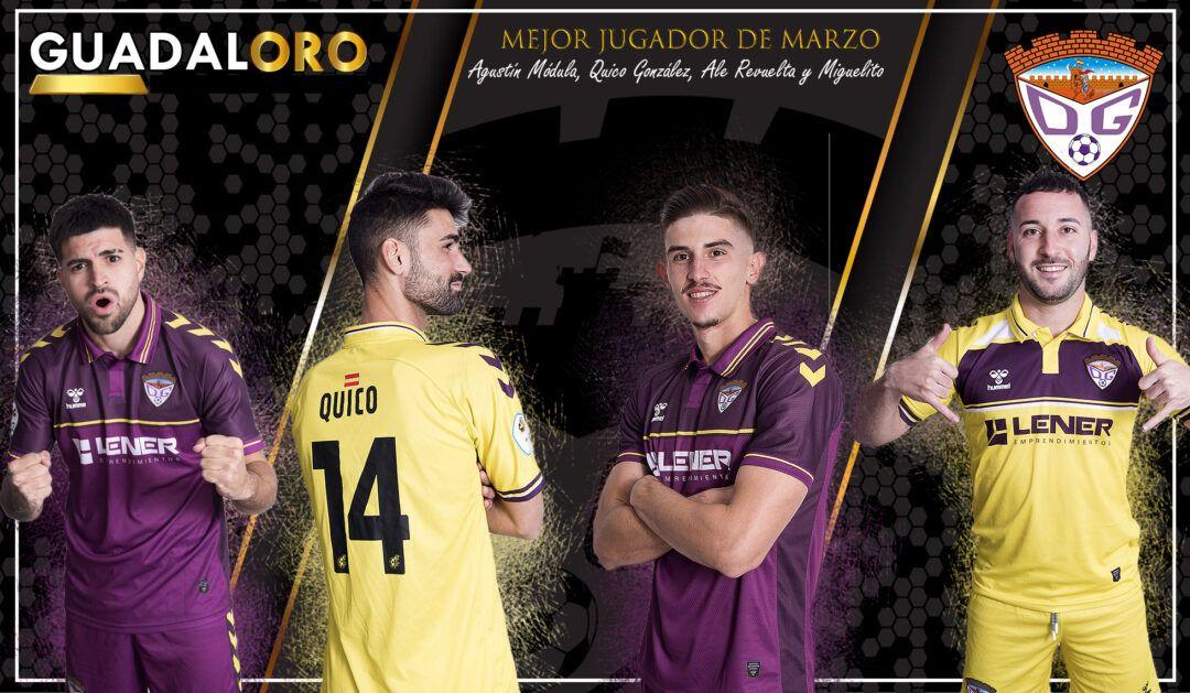 Agustín Módula, Quico González, Ale Revuelta y Miguelito, nominados al #TrofeoGUADALORO
