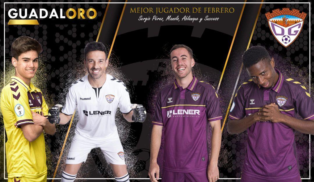 Sergio Pérez, Manolo, Ablanque y Success, nominados al #TrofeoGUADALORO