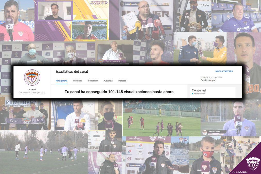 #CDGPlay, el medio oficial del Club, supera las 100.000 visualizaciones en YouTube