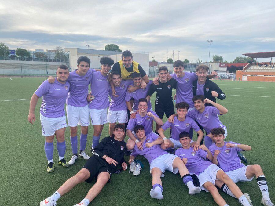El Juvenil salva la categoría con una gran victoria en el último partido de liga (2-0)