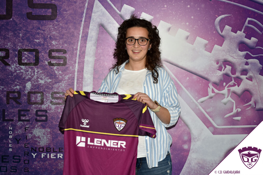 Teresa Cabeza, primer fichaje del equipo femenino del Deportivo Guadalajara