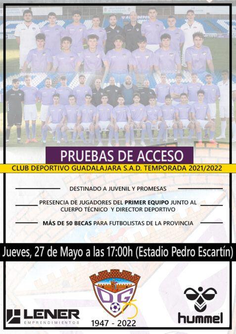 Pruebas para entrar al Juvenil y Promesas del C.D. Guadalajara el próximo 27 de mayo con posibilidad de obtener becas
