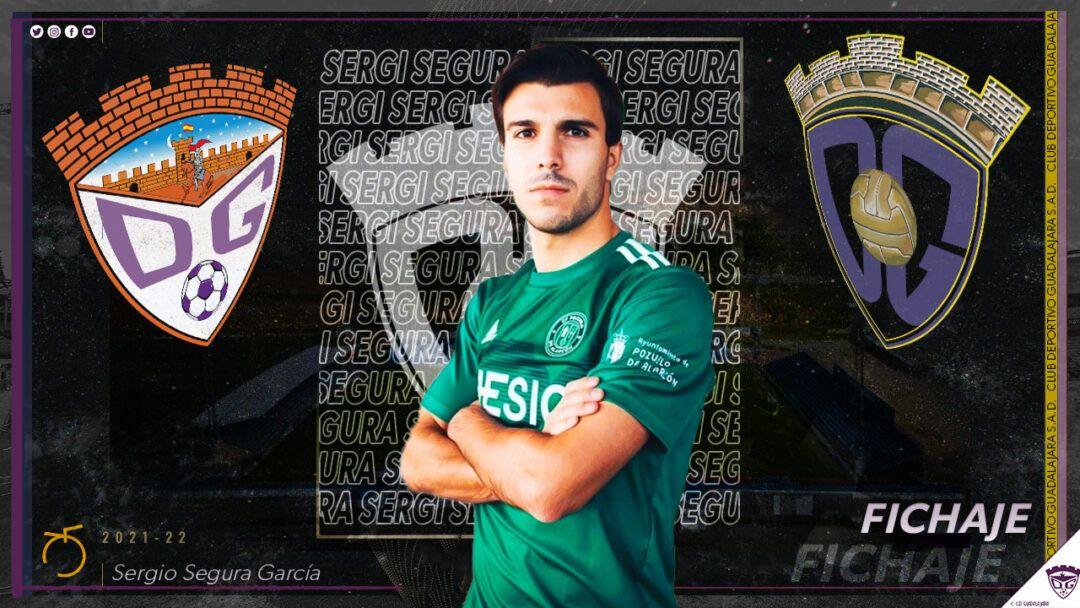 Sergi Segura, nuevo jugador del Deportivo Guadalajara