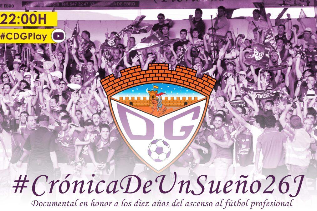 El C.D. Guadalajara estrenará este sábado el documental 'Crónica de un sueño' en el CMI Eduardo Guitian