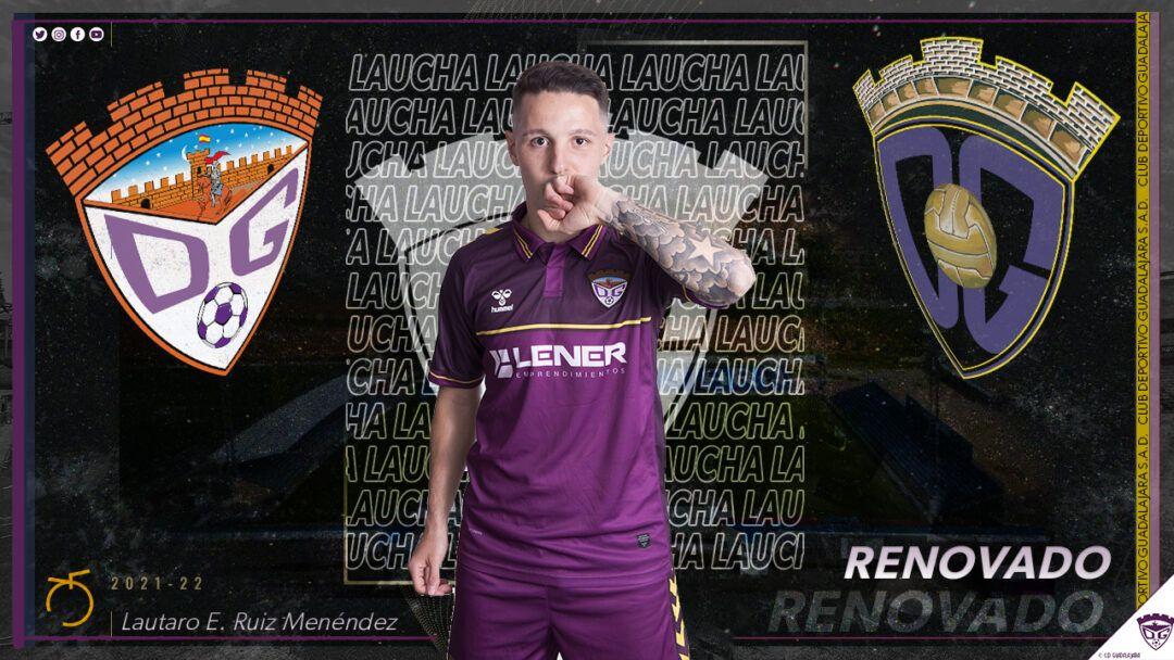 Laucha reafirma su compromiso con el Deportivo Guadalajara