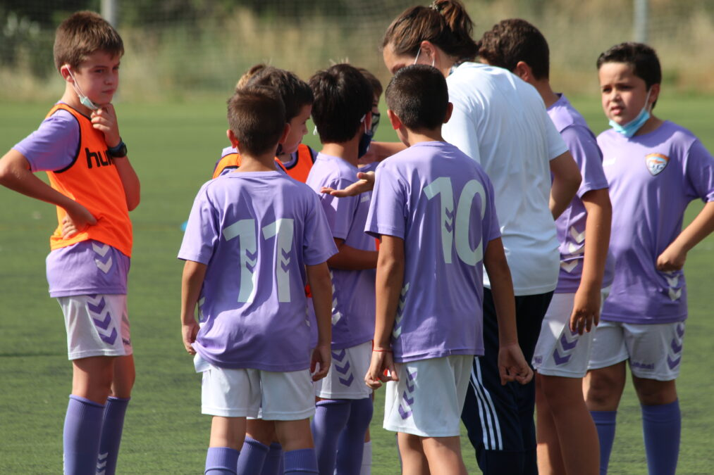 Cantera: Vuelta a los entrenamientos de los equipos escolares