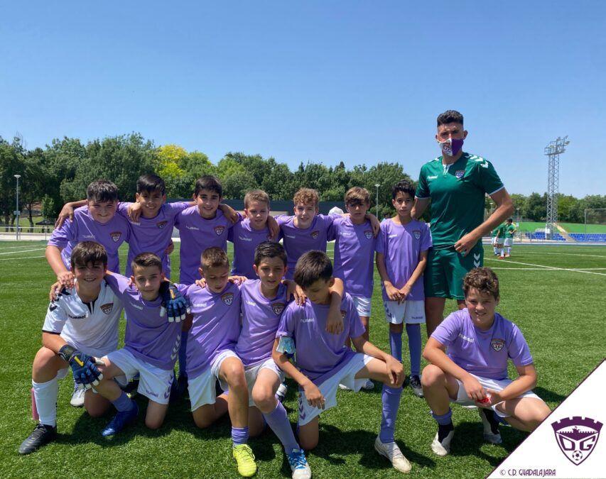 El C.D. Guadalajara Alevín A, campeón del Grupo B de los Deportes Escolares 2020/21