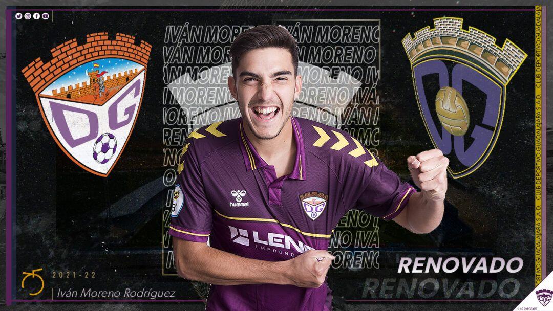Iván Moreno renueva con el Deportivo Guadalajara