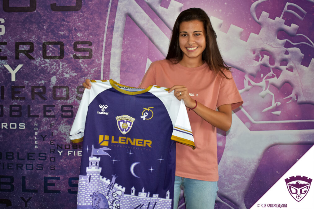 Lucía Mamajón, nueva jugadora del Deportivo Guadalajara