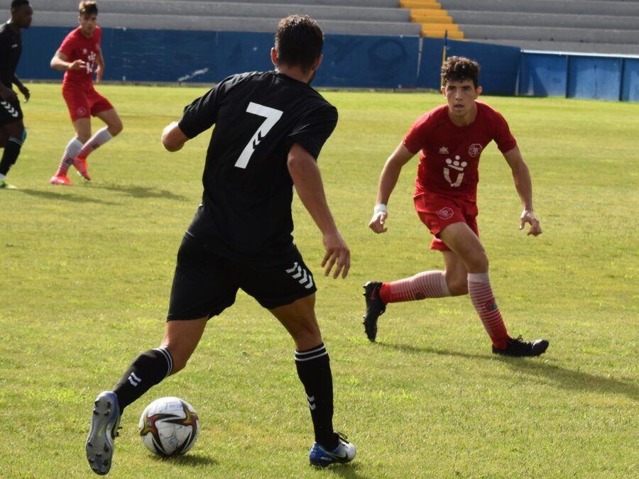 El Deportivo sigue poniéndose en forma consiguiendo un empate ante el C.D. Móstoles de la 2ª RFEF (1-1)