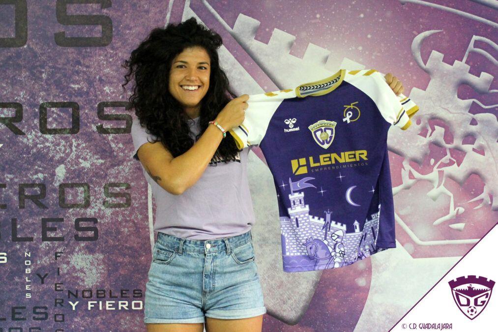 Marta Díaz se convierte en nueva jugadora del C.D. Guadalajara
