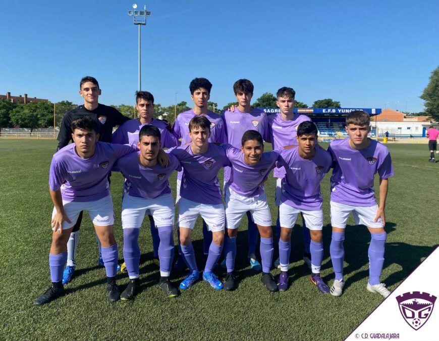 Reparto de puntos entre E.F.B Yuncler y C.D. Guadalajara Juvenil en el primer partido de liga (1-1)