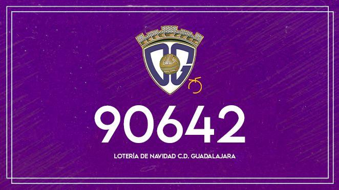 Ya a la venta la lotería de Navidad 2021 del C.D. Guadalajara